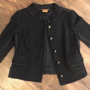 Tory Burch jacket. Black. Size 6.